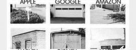Global businesses that started in a garage